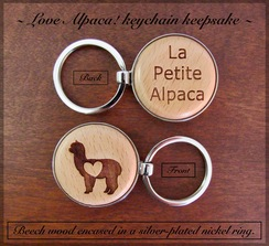 Photo of KEYCHAINS: LOVE Alpacas!