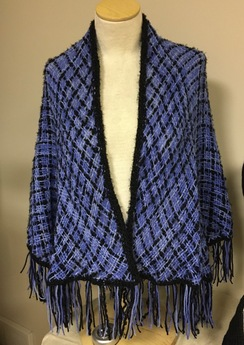 Woven shawl