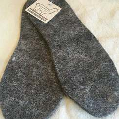 Photo of Felted Shoe Inserts