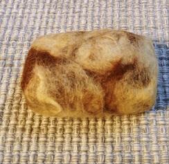 Photo of Lemon Coconut Felted Soap