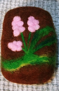 Photo of Coconut Lemon Felted Soap