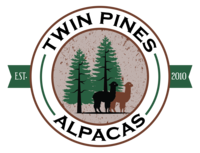 Twin Pines Alpacas Farm & Fibre Mill - Logo