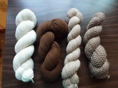 100% Alpaca Yarn-300 Yards