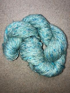 Yarn- Suri Alpaca- Turquoise Daisy