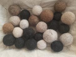 Pet Toy Balls - 100% Alpaca All Natural