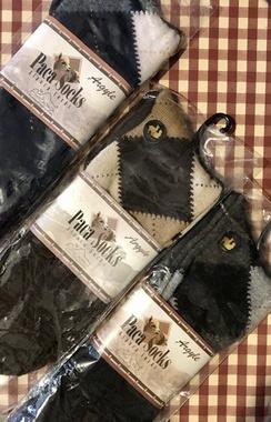 Photo of Socks- Alpaca Dress Socks- Argyle
