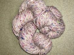 Photo of Yarn- Suri Alpaca- Sari Silk- Pink