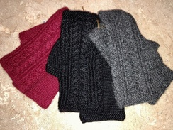 Gloves- Fingerless Gloves- 100% Alpaca