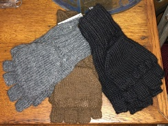 Gloves- Alpaca Glittens- Solid Colors