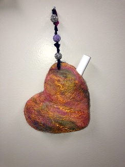 Photo of Wet Felting- Pocket Heart
