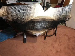 Diamond and Squares Shawl