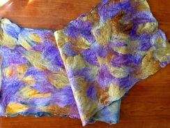 Table Runner- Wet Felted