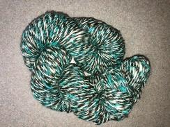 Yarn- Suri Alpaca Yarn- Brown/Teal