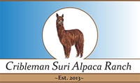 Cribleman Alpaca Ranch and Fiber Studio - Logo