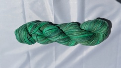 Lovely multi-green sport wt yarn