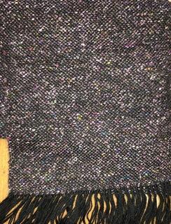Photo of Scarf- Suri Alpaca- Black Confetti