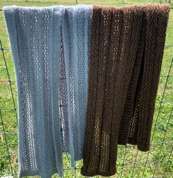 Photo of Cable and Lace Scarf