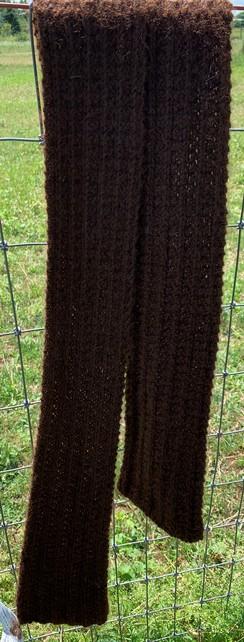 Photo of Hand Knit Alpaca Scarf