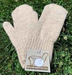 Photo of Kid's Alpaca Mittens