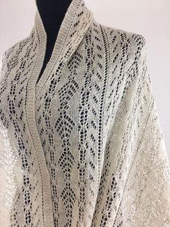 Arnetta Shawl - Lace Knit Shawl