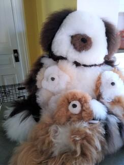 """Alpaca Teddy Bears - 13"""""""