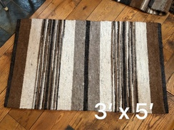 Photo of Rug- Llama Fiber Rug- 3'x5'