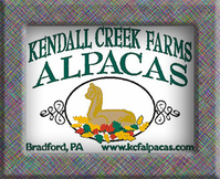 Kendall Creek Farms Yarn Barn and Gift Shop - Logo