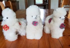 Alpaca Stuffed Toy - Standing