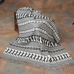Photo of Alpaca Motif Throw