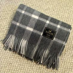 Scottish Alpaca Throw