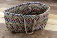 Photo of Light Color Square Bottom Tote