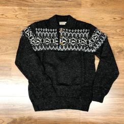 Photo of Men's Alpaca Print Sweater