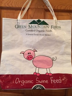 Photo of Reusable Tote Bag--Doodle Pig!