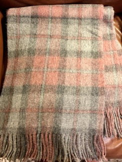 Photo of Blanket- Alpaca Throw- Plaid