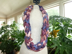 Photo of Alpaca Ribbon Yarn Necklace