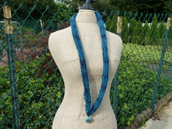 Lucet Braided Alpaca Necklace