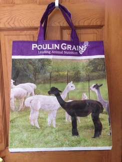 Photo of Reusable Tote Bag-Alpaca/Llama feed