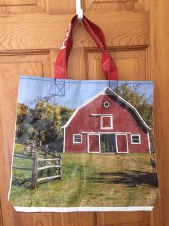 Photo of Reusable Tote Bag-Big Red Barn
