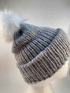 Photo of Hat w/ PomPom (more!)