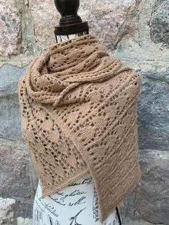 Photo of Fawn Knit Lace Scarf