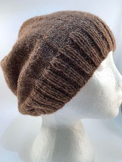 Photo of Slouchy Ribbed Brim Hat