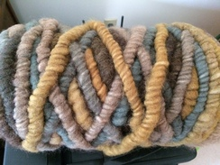 Photo of Yarn-alpaca corespun wool core rug bump2