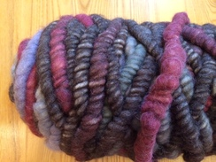 Photo of Yarn-alpaca corespun/wool core rug bump4