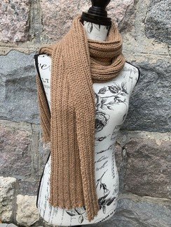 Photo of Fawn Rib Scarf