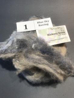 4 Oz. Alpaca Roving Blends 1