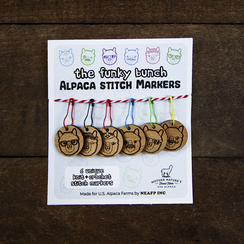 Photo of Funky Bunch Stitch Markers