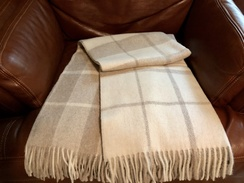 Photo of Blanket- Alpaca Throw- Beige/Cream