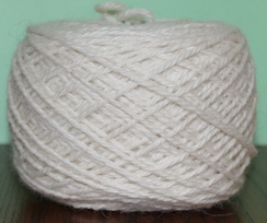 Photo of Yarn - 80% Alpaca 20% Merino - White