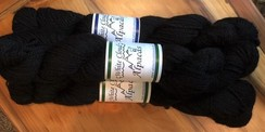 Yarn - 100% Alpaca - True Black