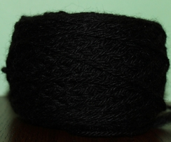 Photo of Yarn - 80% Alpaca 20% Merino - Black